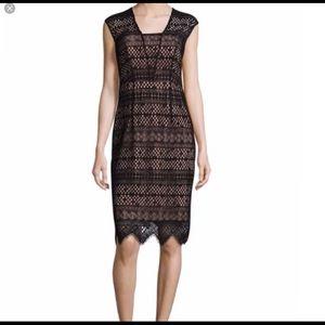 Shoshanna Black Lace dress sz 4. Never worn.